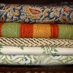 Block print tablecloths and bedspreads