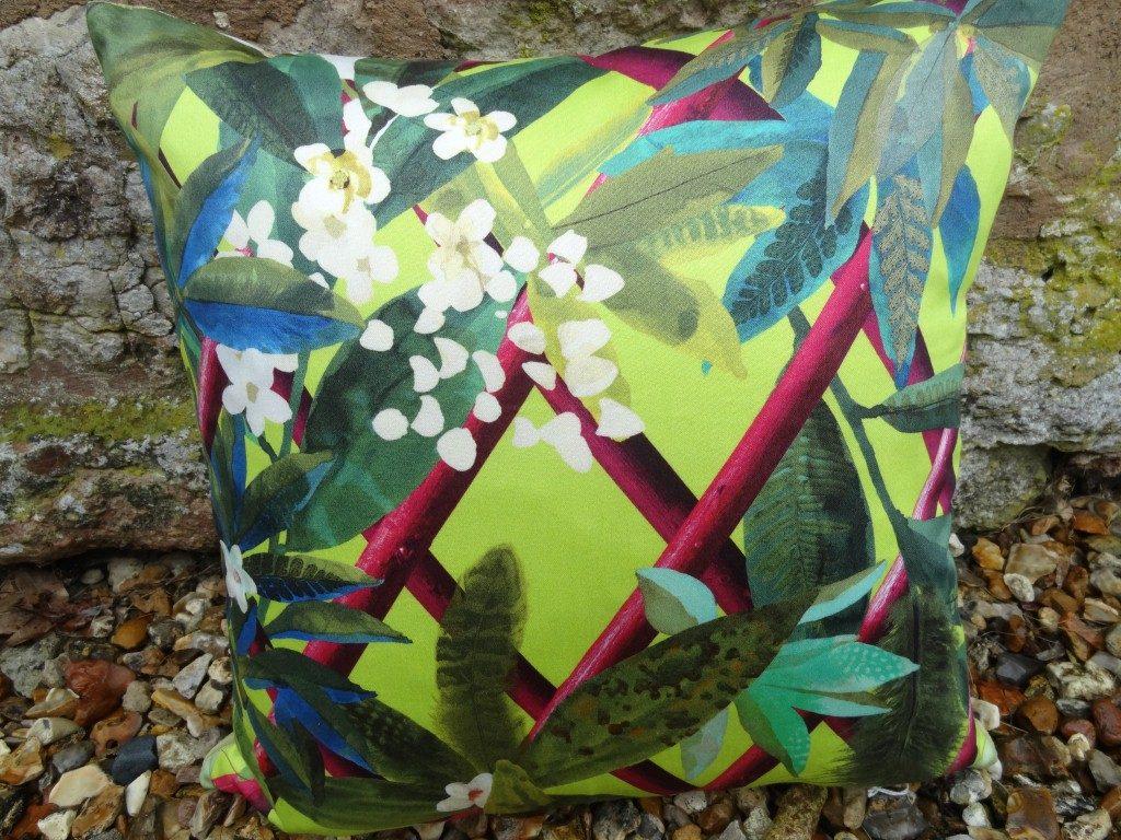 Canopy Lime cushion