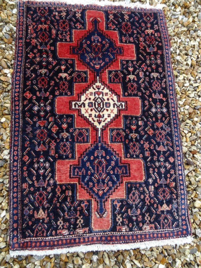 Persian Senneh prayer rug